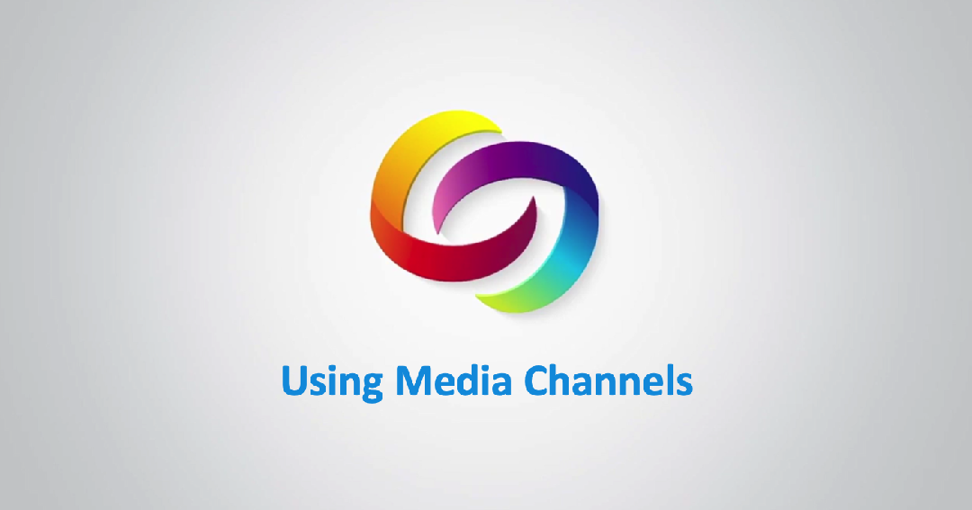 Using the Media Channel Video Tutorials Thumbnail