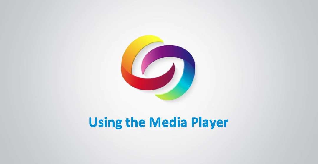 Using the Media Player Video Tutorials Thumbnail
